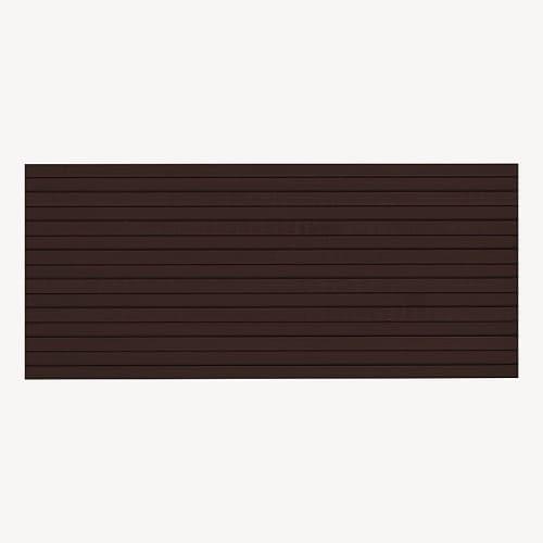 trap strip 28x2mm chocolade bruin