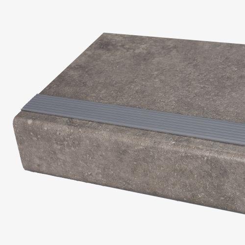 antislip rubber strip in de kleur grijs.