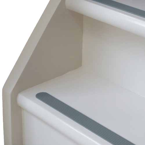 beton grijze antislip strip