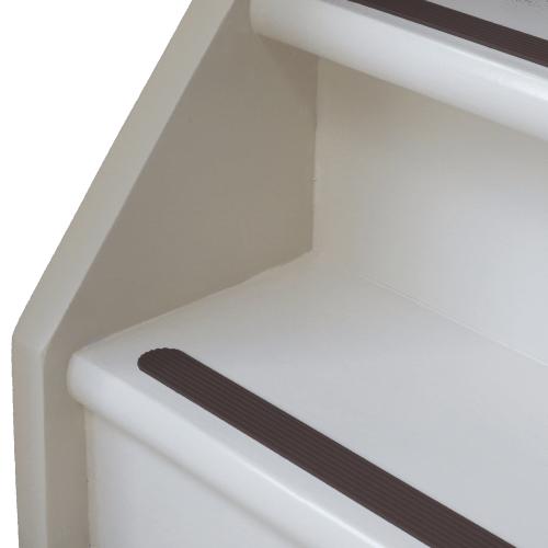 antislip strip bruin