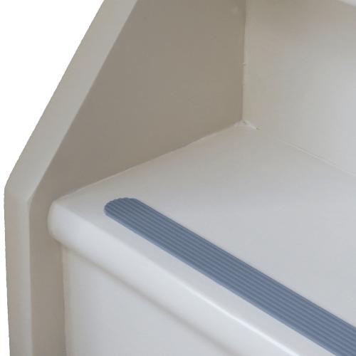 antislip trap strip grijs