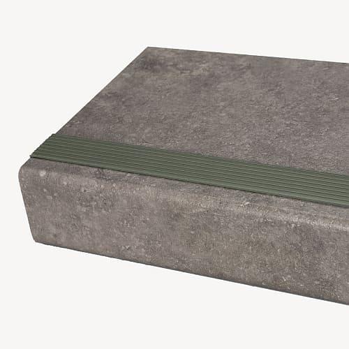 rubber trap strip betongrijs cement