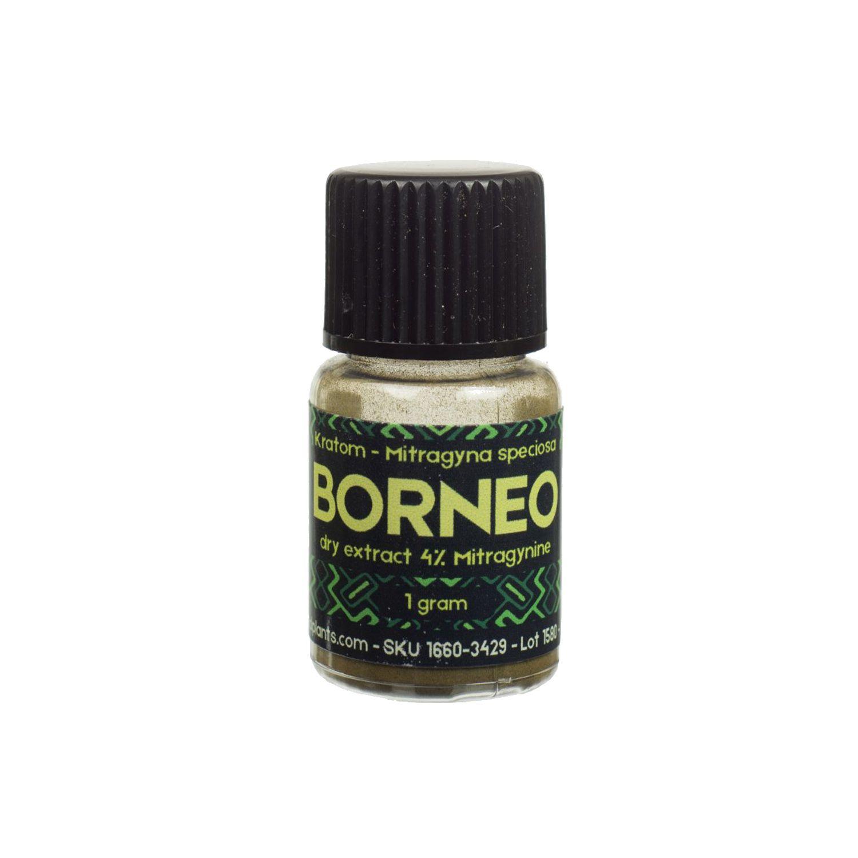 Kratom Borneo Red 4% extract 1g   Sacred Plants