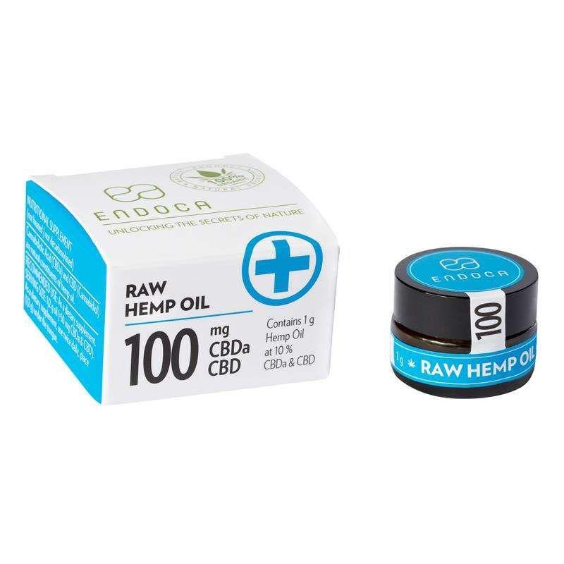 CBD pasteRAW10% 1g | 100 MG CBD (Endoca)