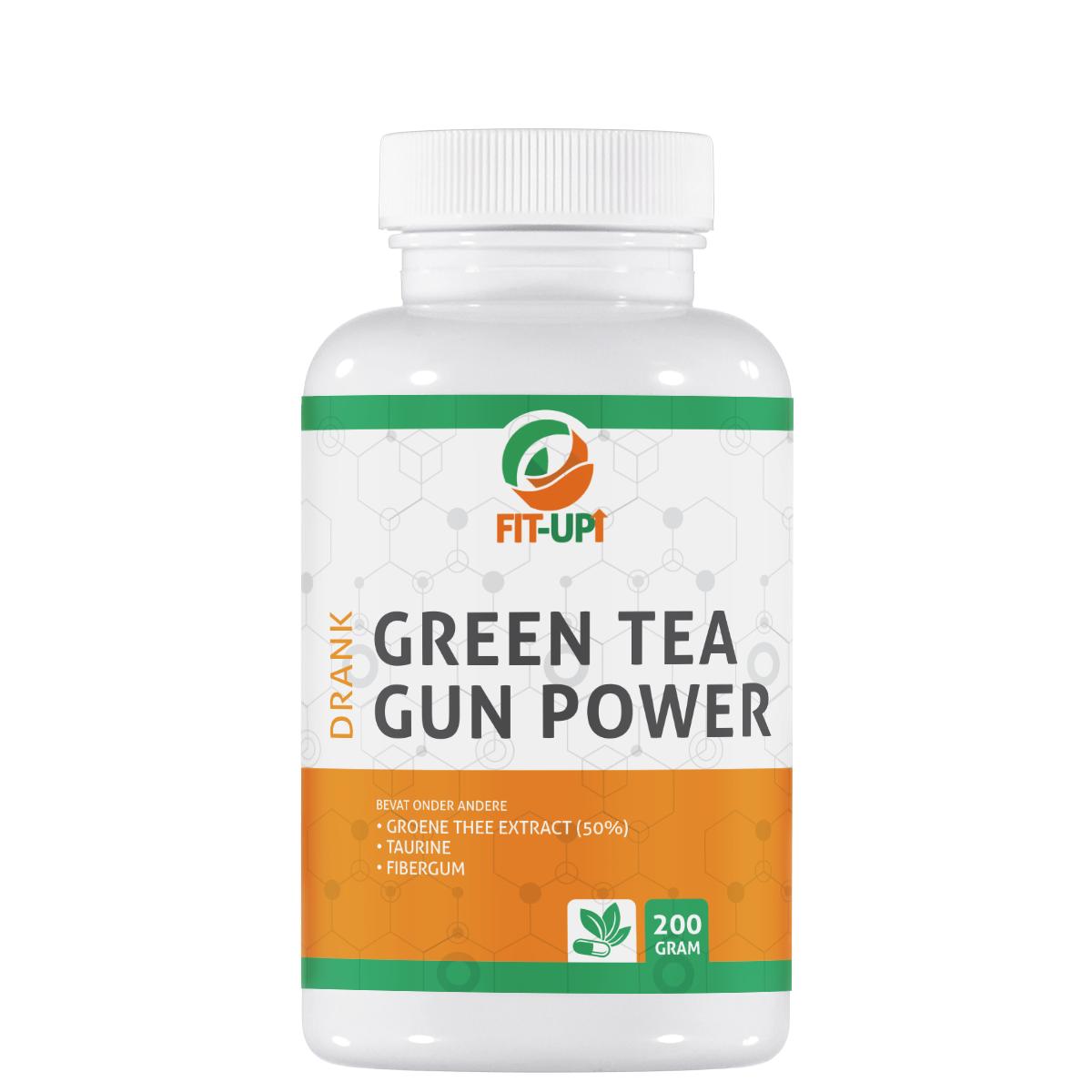 Green tea gun power - drink