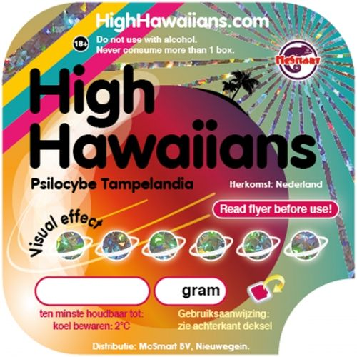 High Hawaiians Truffles (22 grams)