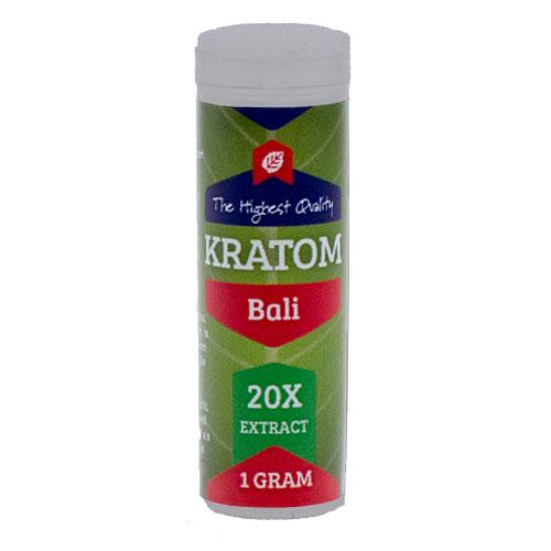 Kratom Bali red 20X extract | Mitragyna Speciosa