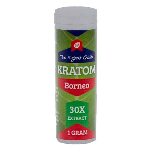 Kratom Borneo red 30X extract | Mitragyna Speciosa