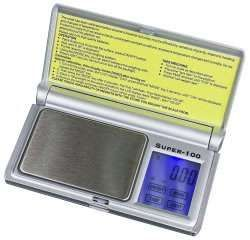 Super-100 - 100 x 0.01 g - Precision  touchscreen scale