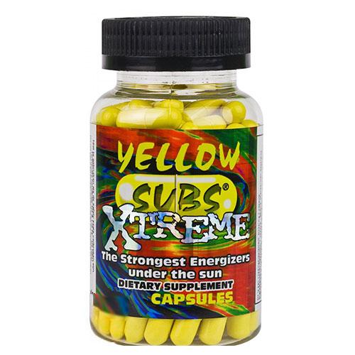 Yellow Subs Xtreme - 100 Caps