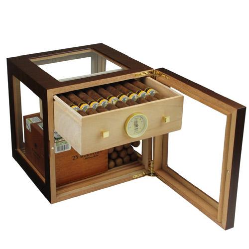 Cube Deluxe walnoot 100 sigaren - Adorini