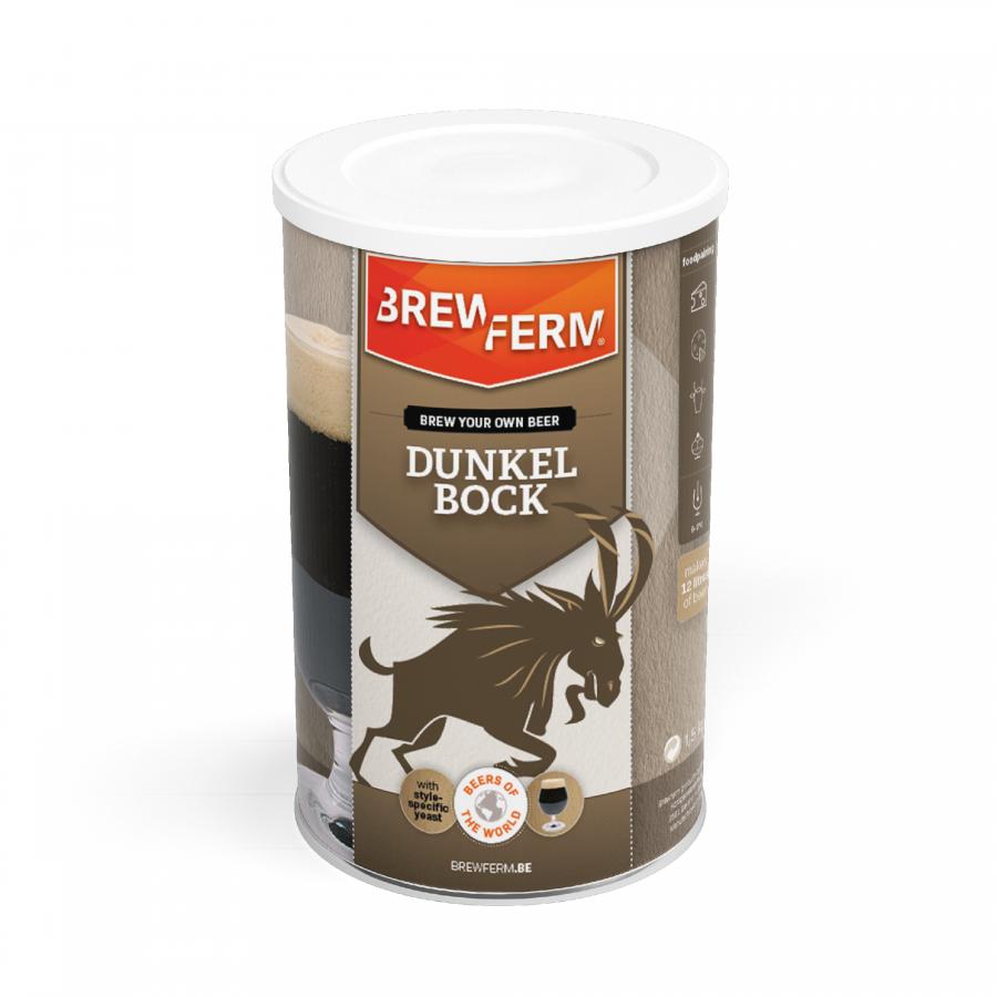 Bierkit Dunkel Bock - Brewferm