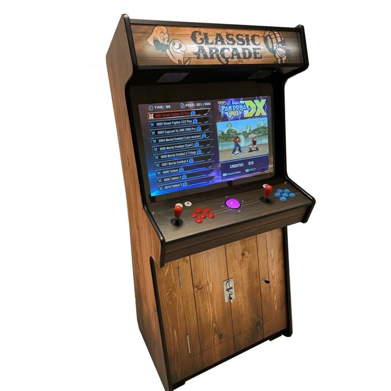 Classic arcade kast houtlook - 32''