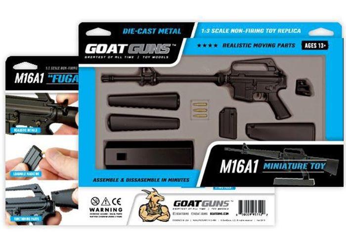 M16A1 Black Miniatuur - GoatGuns
