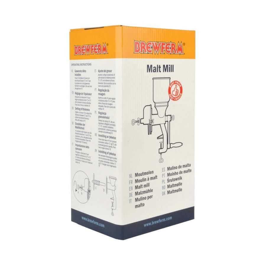 Moutmolen gietijzer -  Brewferm