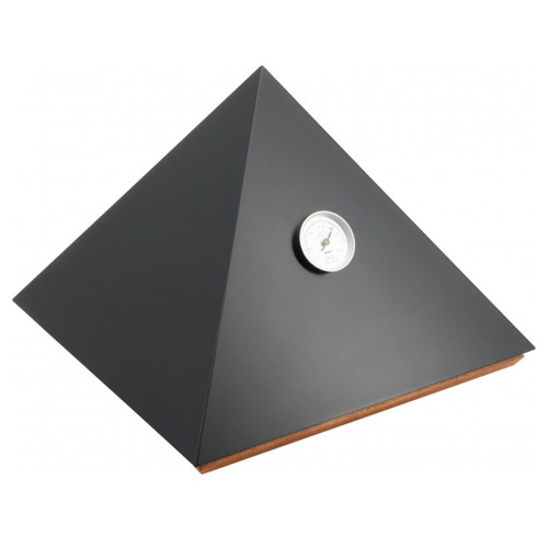 Piramide humidor Deluxe M zwart - Adorini