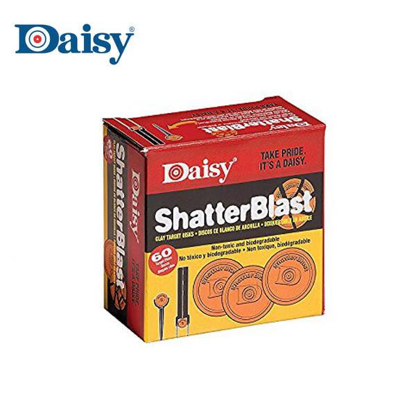 Shatterblast kleischijven 60 Pcs - Daisy