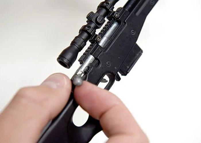 Sniper SR black Miniatuur - GoatGuns