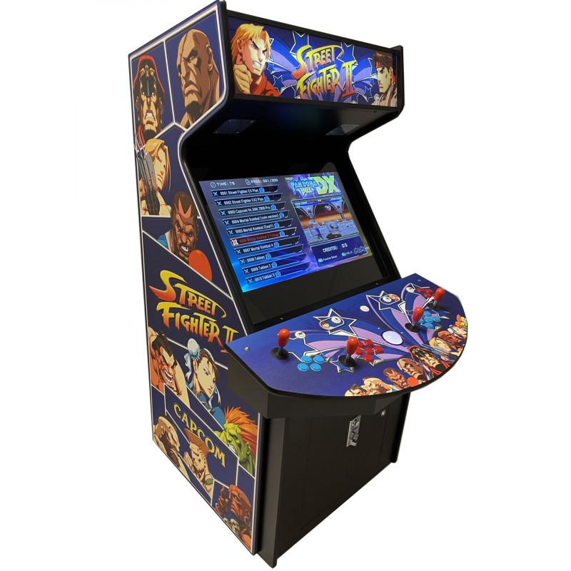 Streetfighter Arcade 4 spelers - 32''