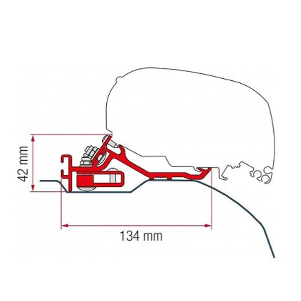 Fiamma Kit Duc/Jump/Box Low Prof >2006 (F65/F80)