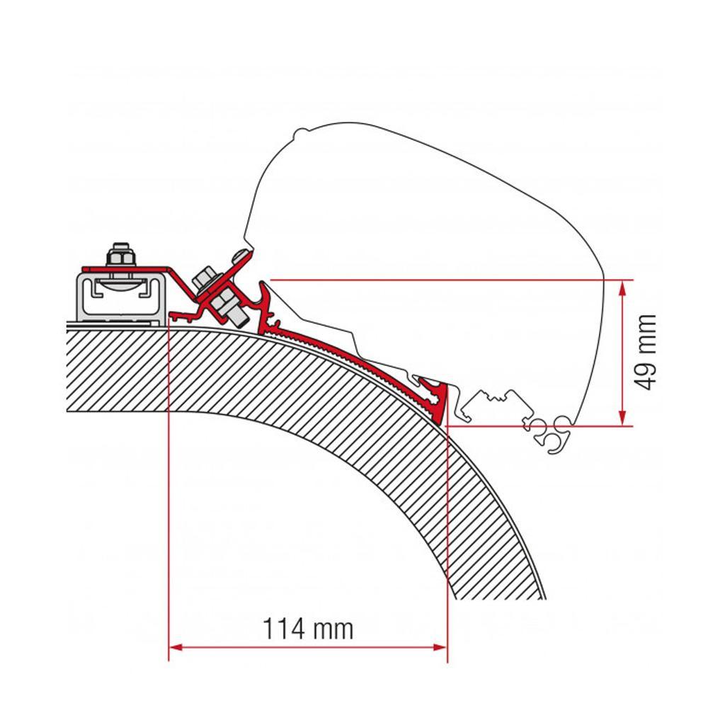 Fiamma Adapter Rapido Distinction 450