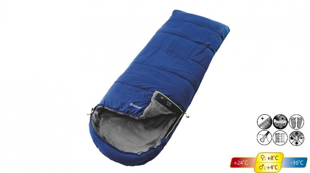 Campion Slaapzak Blauw 215x80cm