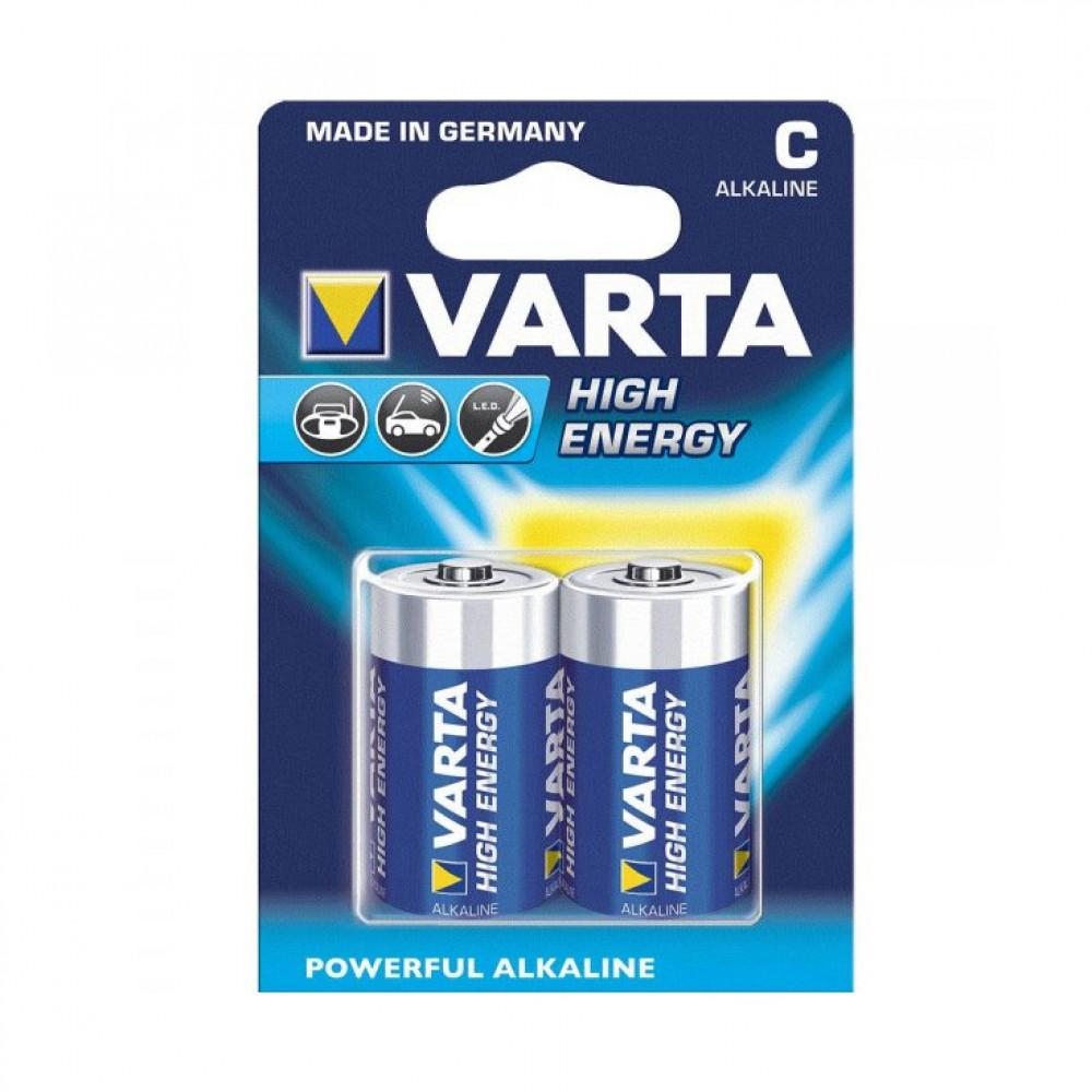 Varta High Energy Alkaline C -Cell LR14 (bl a 2)