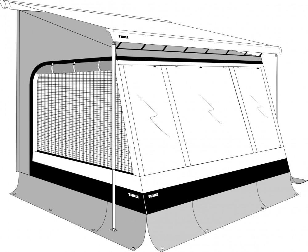 Thule EasyLink 3,60 x 2,50m  Mont. 2,25-2,55