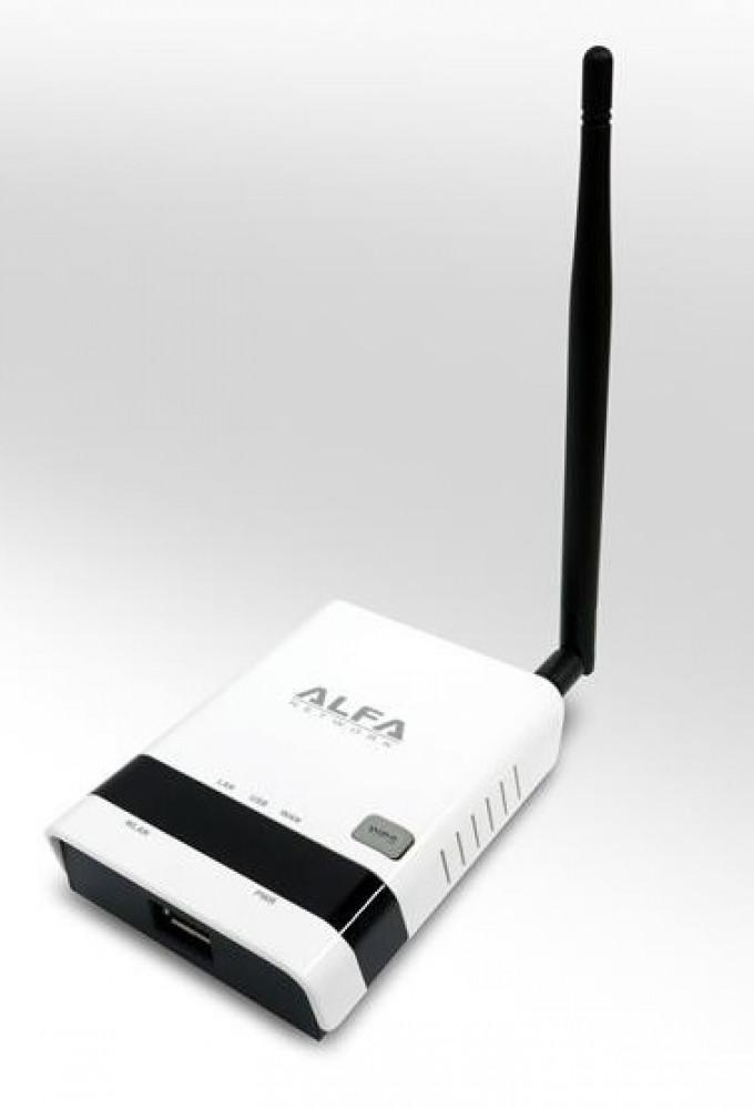 Alfa Network R36 Wifi router WPS