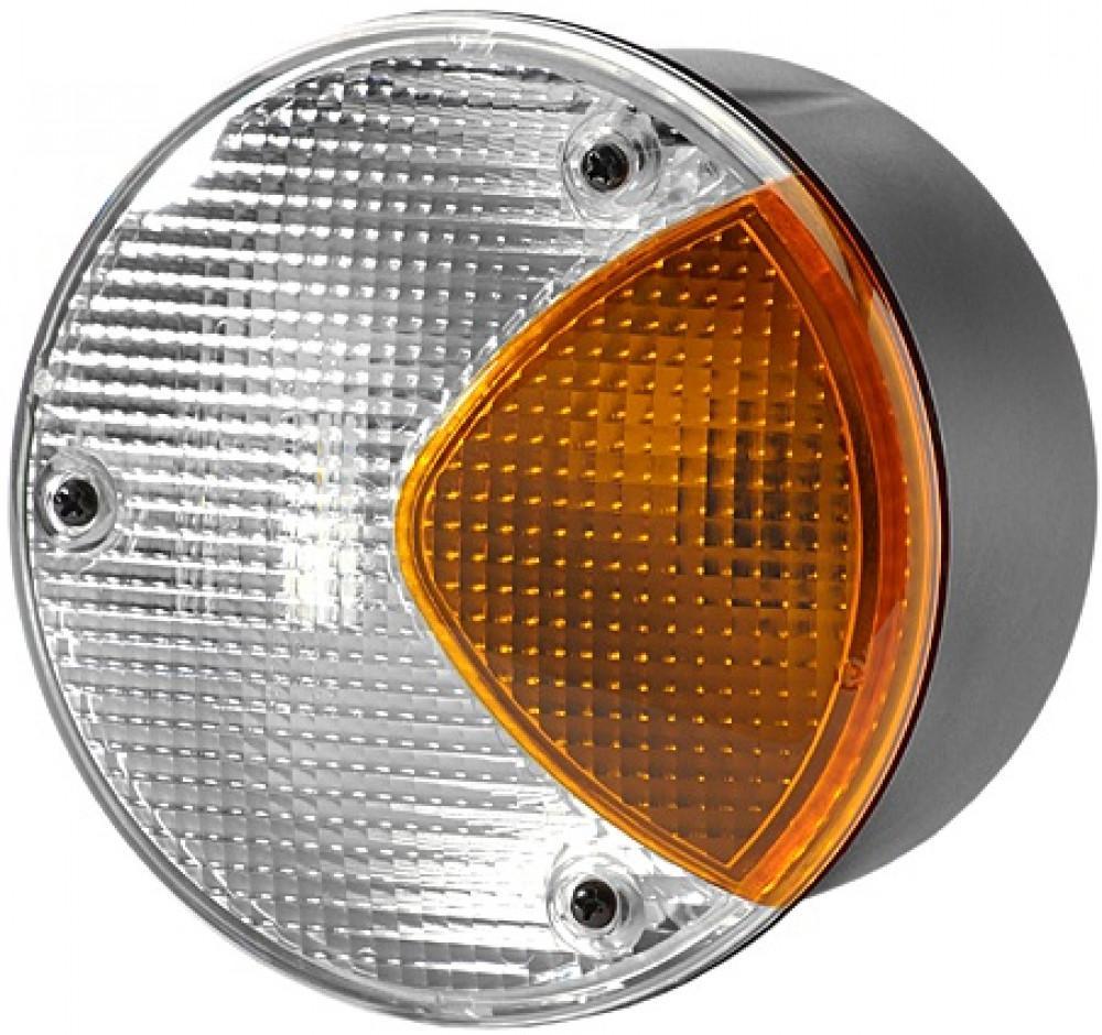 Hella Achteruitrijlicht/Knipperlicht Rond Wit/Oranje