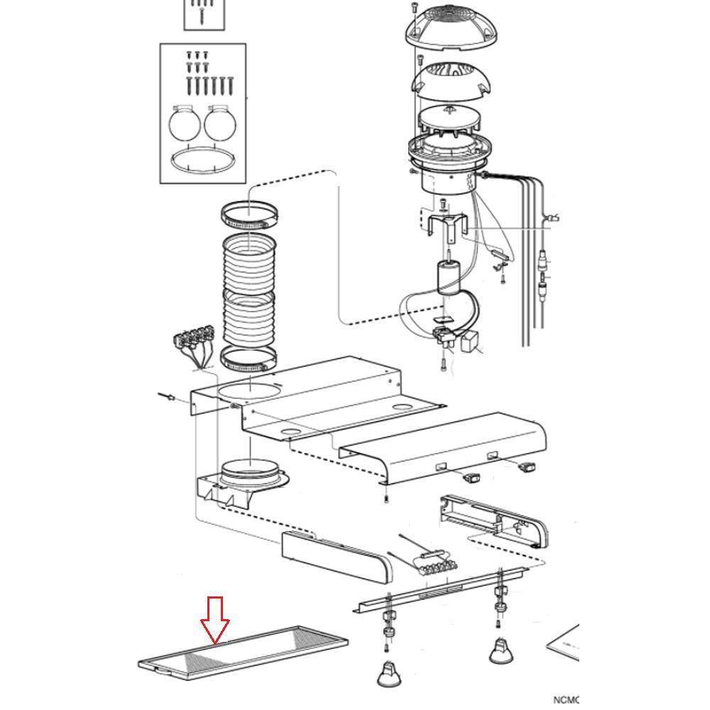 Dometic CK400 Afzuigkap Vet Filter