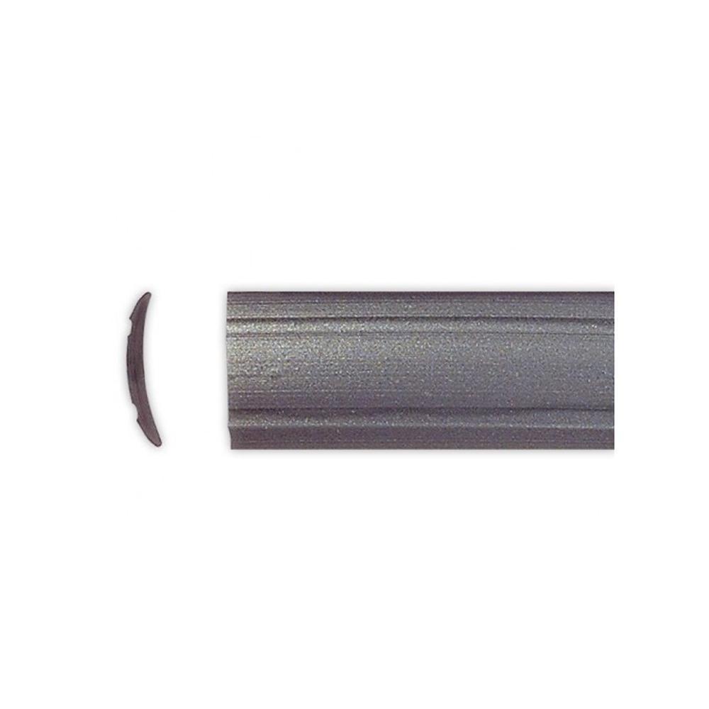 Inlegbies Donkergrijs 12mm 10mtr