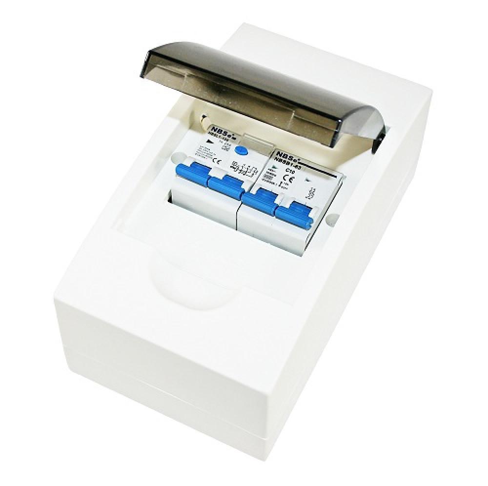Aardlekschakelaar Crusador Zekeringautomaat 10Amp