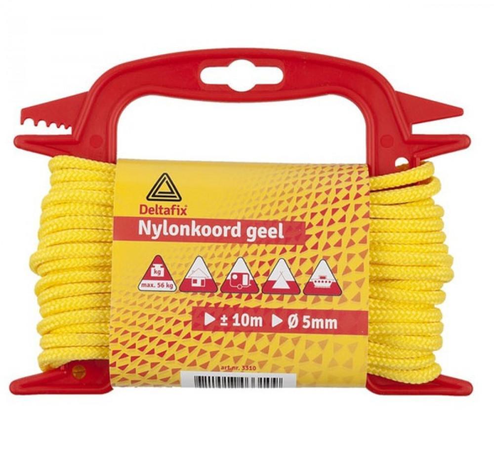 10mtr fluor geel Materiaal nylon.