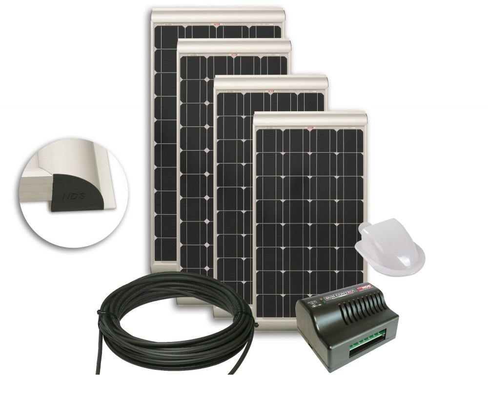 NDS Daglichtpaneelset PSM100WP 100W + Sun Control MPPT