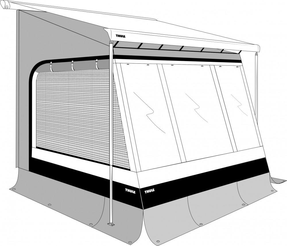 Thule EasyLink 3,10 x 2,50m  Mont. 2,25-2,55