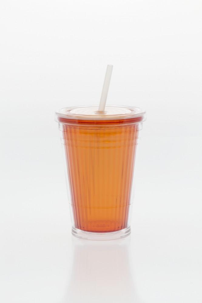 Drinkbeker met Rietje Oranje