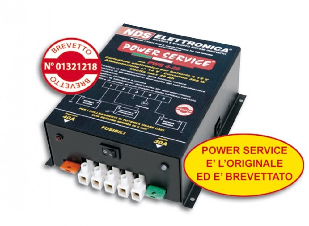 NDS Power Service PWS 4-25 acculader