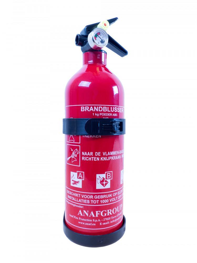 Brandblusser 1kg Manometer