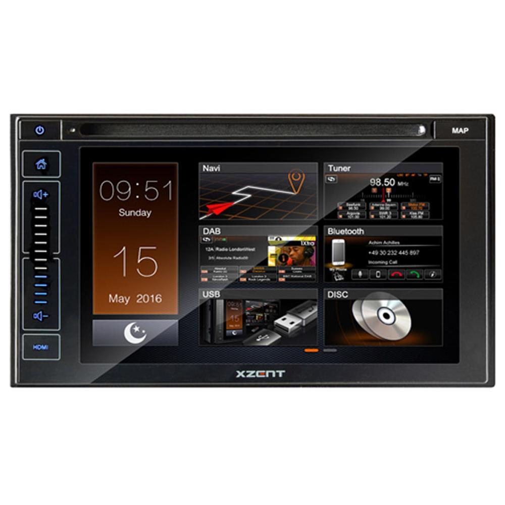 XZENT Multimedia 2-Din CD/ DVD player zonder SD Card