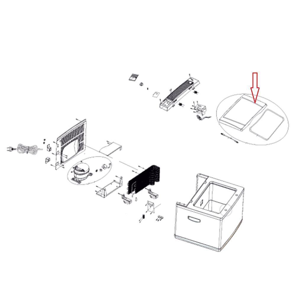 Dometic Deksel Koelbox C40 Compleet
