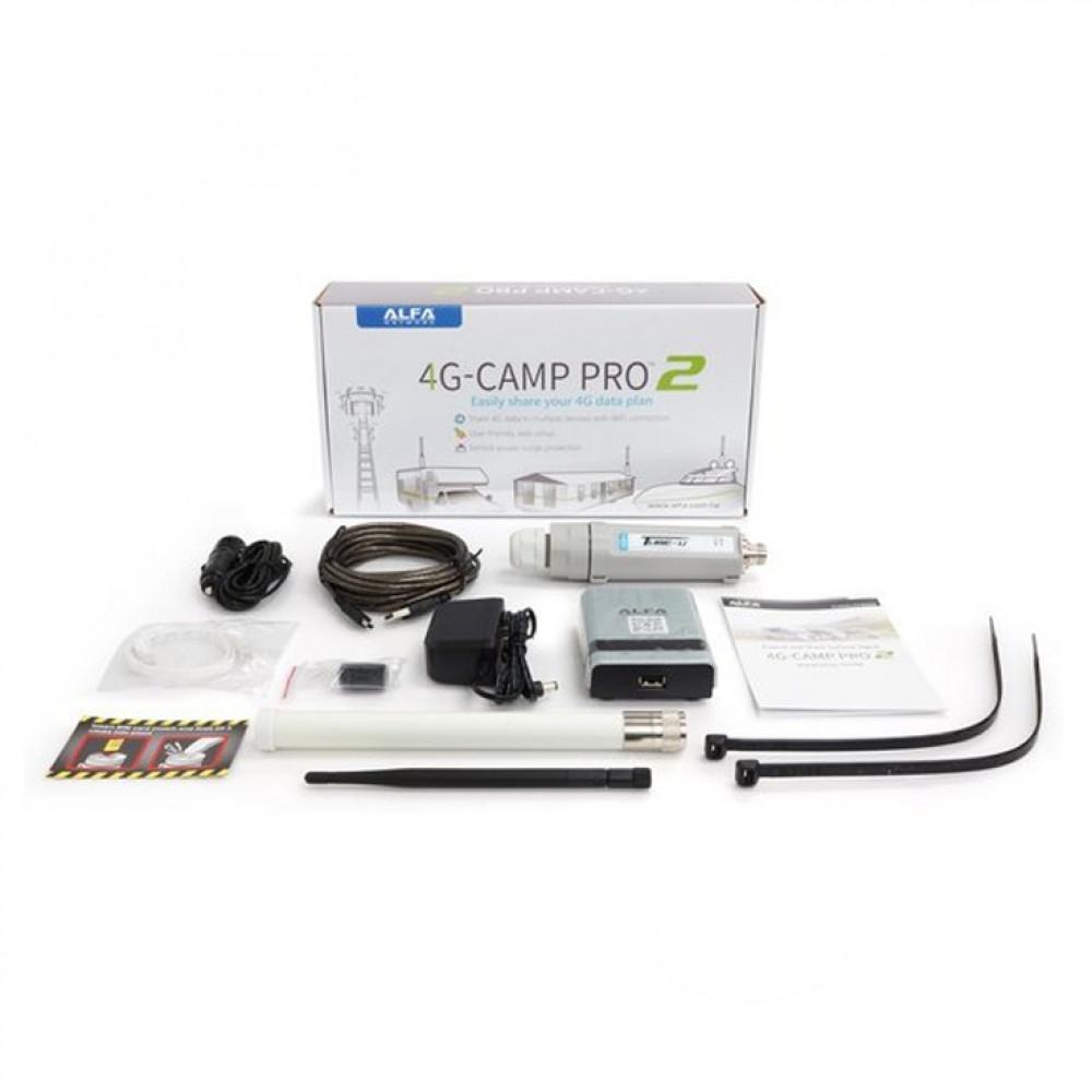 Alfa Network 4G Camp Pro set