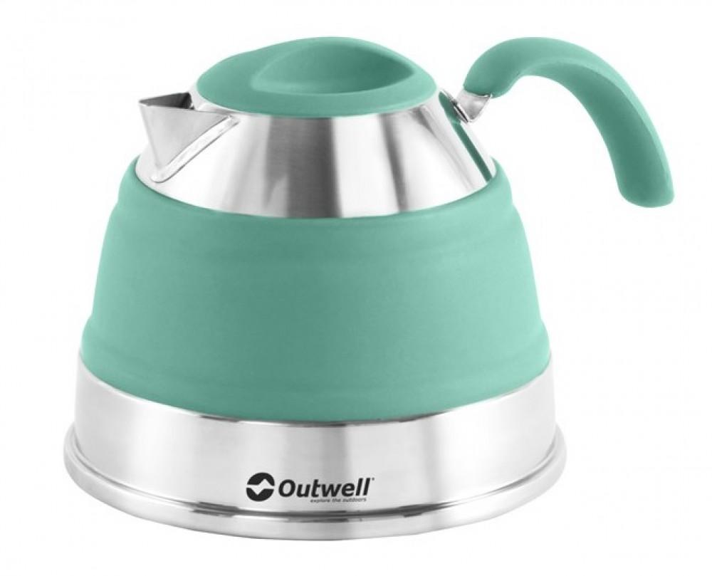 Outwell Collaps ketel 1.5L Turquoise Blue