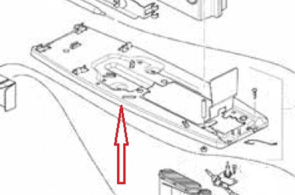 (14) Vloerbevestiging compleet