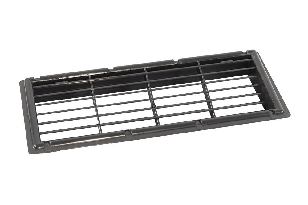 MPK Koelkastrooster Inbouw Zwart 34x11.5cm