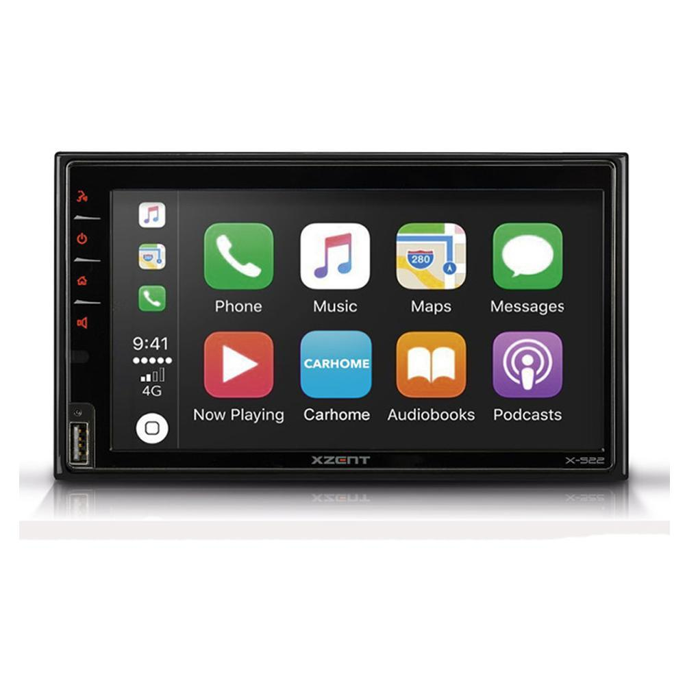 XZENT Multimedia 2-din DAB/ Apple Carplay/ Android Auto