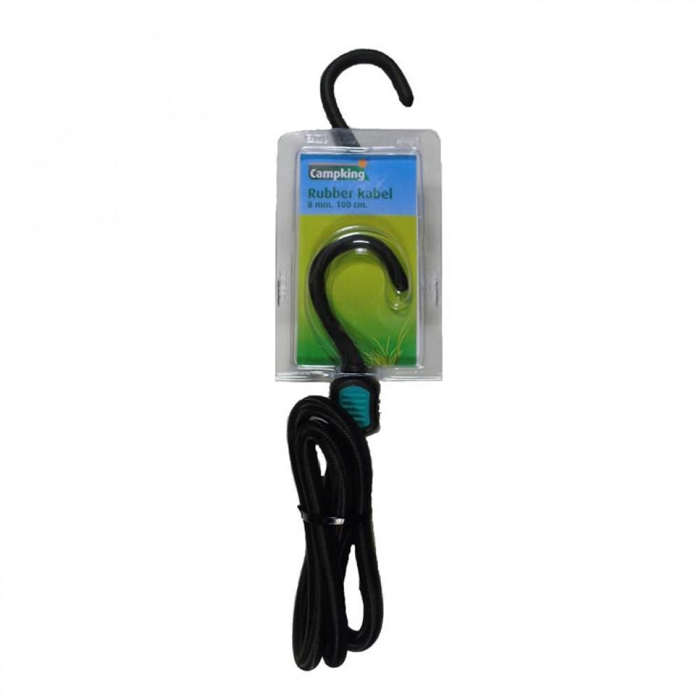 Campking rubber kabel 8mm 100cm 20 stuks