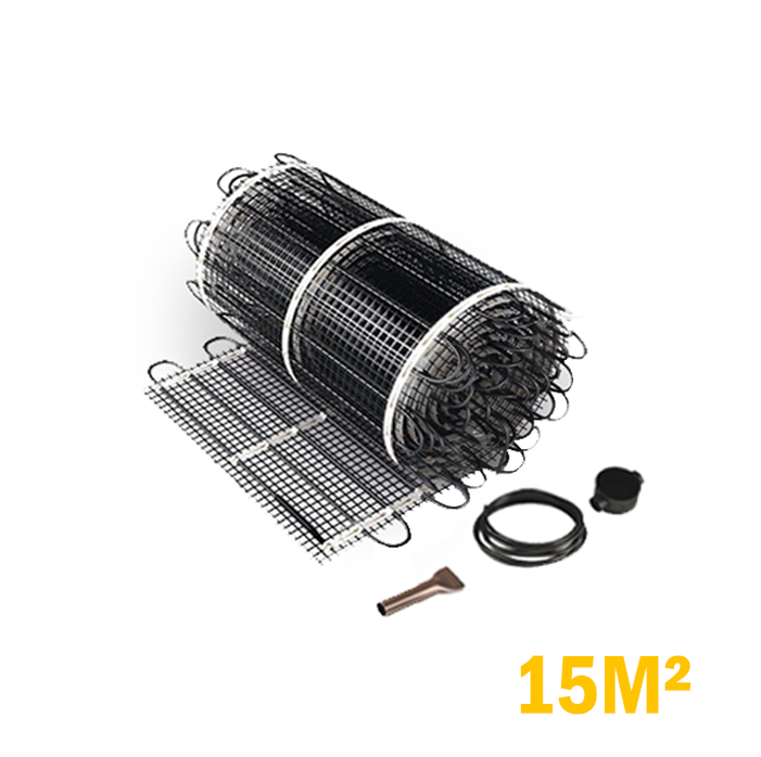 Vloerverwarming set  - 2250 Watt