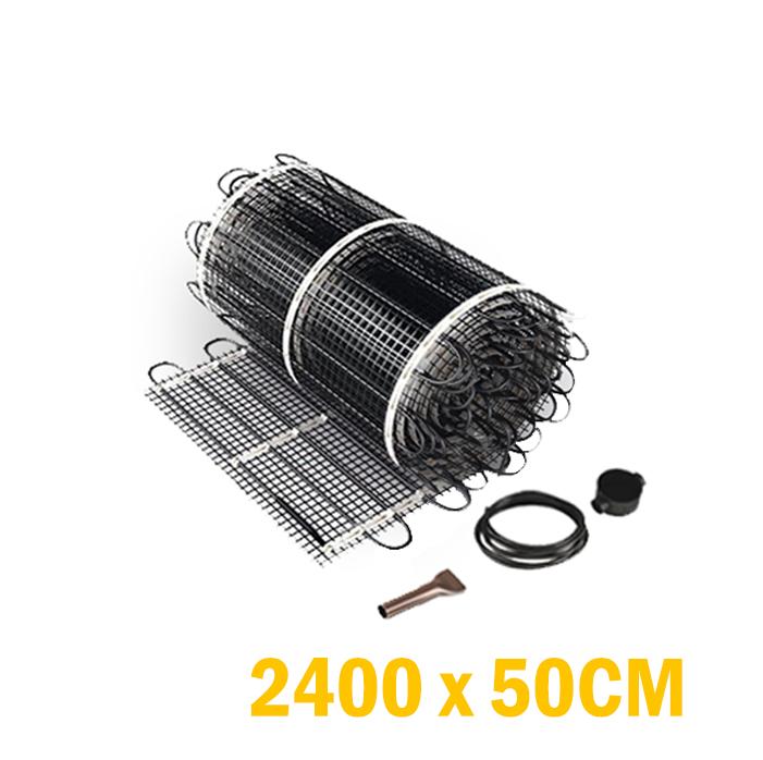 Vloerverwarming set  - 1800 Watt