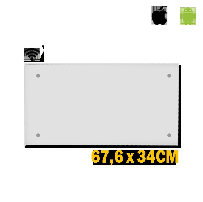 Adax Clea Wifi H - 600 Watt